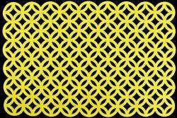 Podkładka 181 Żółta 30X45