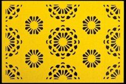 Podkładka FIORI Żółta 30X45
