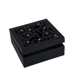 Pudełko AGA 01 Czarne 16X16X6