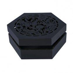 Pudełko CHLOE 02 Czarne 20X20X7