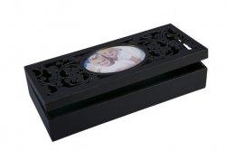 Pudełko TEA 05 Czarne  32X14X7