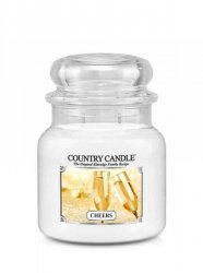 Country Candle - Cheers - Średni słoik (453g) 2 knoty