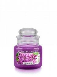 Country Candle - Fresh Lilac - Mały słoik (104g)
