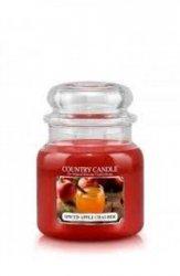 Country Candle - Spiced Apple Chai-der -  Średni słoik (453g) 2 knoty