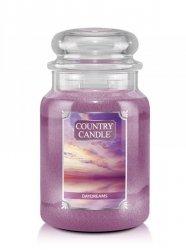 Country Candle - Daydreams - Duży słoik (652g) 2 knoty