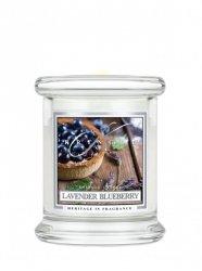 Kringle Candle - Lavender Blueberry - mini, klasyczny słoik (128g)