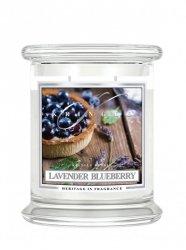 Kringle Candle - Lavender Blueberry - średni, klasyczny słoik (411g) z 2 knotami