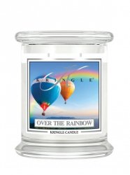 Kringle Candle - Over the Rainbow - średni, klasyczny słoik (411g) z 2 knotami