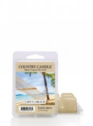 Country Candle - Life s Beach - Wosk zapachowy potpourri (64g)