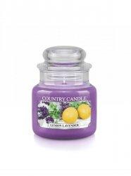 Country Candle - Lemon Lavender -  Mały słoik (104g)