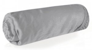 Prześcieradło NOVA3 220X200 z gumką Srebrne Eurofirany