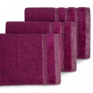 Ręcznik GLORY 70X140 Amarantowy