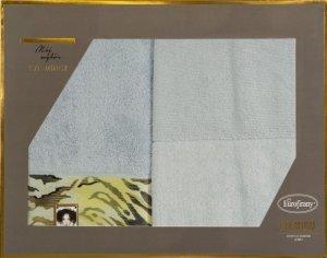 Eva Minge Komplet Ręczników CECIL 50x90 Srebrny Eurofirany
