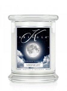 Kringle Candle - Midnight - średni, klasyczny słoik (411g) z 2 knotami