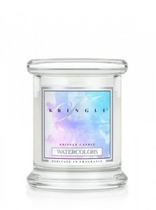 Kringle Candle - Watercolors - mini, klasyczny słoik (128g)