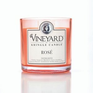 Kringle Candle - Rose - Tumbler (1700g) z 4 knotami
