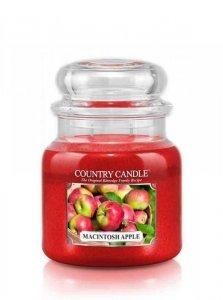 Country Candle - Macintosh Apple -  Średni słoik (453g) 2 knoty