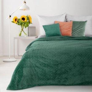 Koc CINDY4 170X210 Ciemny Zielony Design 91