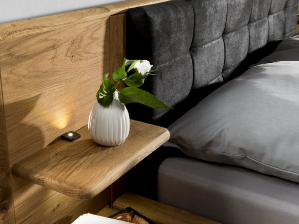 Panel dębowy łóżka lewy typ 35 Denver - Dekort