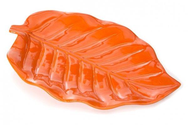 LAOS Talerz 2  46X29X5 Pomarańczowy