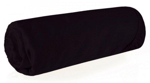 Prześcieradło NOVA3 140X200 z gumką Czarne Eurofirany