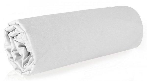 Prześcieradło NOVA z makosatyny 220X210 Białe Eurofirany