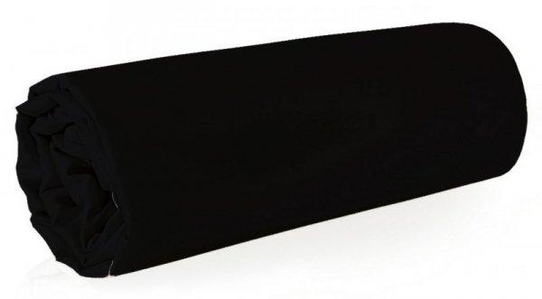 Prześcieradło NOVA 180X210 Czarne Eurofirany