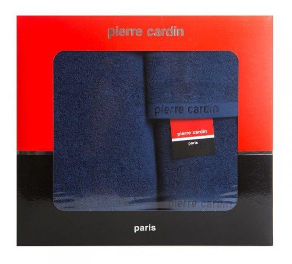 Komplet Ręczników Pierre Cardin EVI Granatowy Eurofirany
