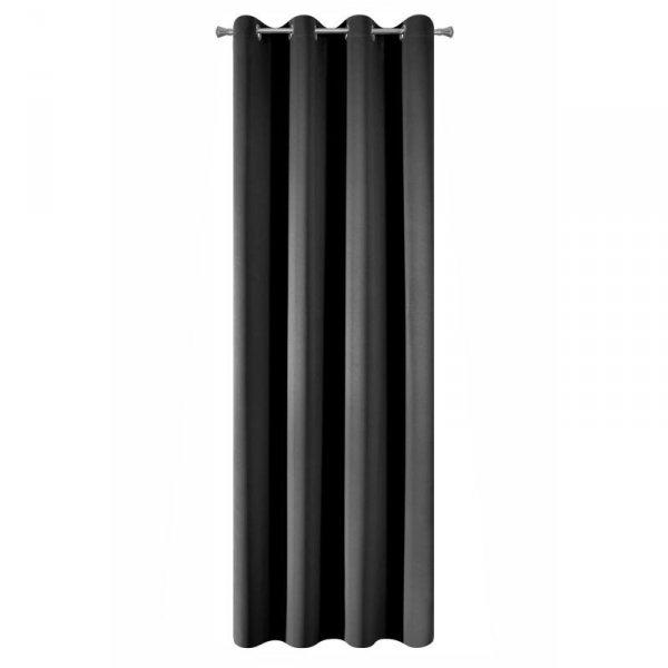Zasłona PARISA 135X250 Blackout Czarny Design 91