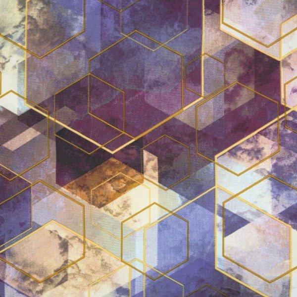 Pościel VITRAGE 160X200 Hexagon Satyna Eurofirany