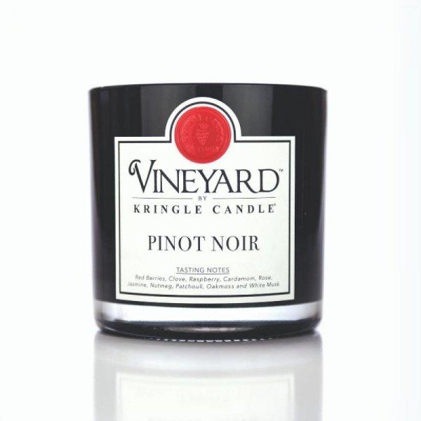 Kringle Candle - Pinot Noir - Tumbler (1700g) z 4 knotami