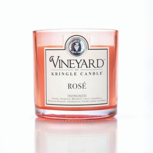 Kringle Candle - Rose - Tumbler (1700g) z 4 knotami