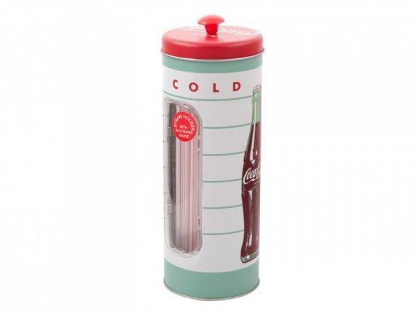 PUSZKA COCA COLA ICE COLD NA SŁOMKI+25 SŁOMEK