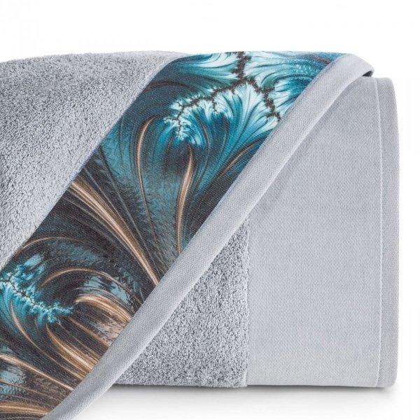 Eva Minge Komplet Ręczników CHIARA 70x140 Srebrny Eurofirany