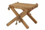 Stołek Lilli - Olcha naturalna olejowana