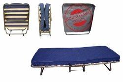 Łóżko składane polowe Dostawka Hotelowa COMO 190x80 z pokrowcem