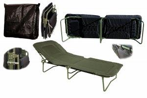 Łóżko polowe wojskowe WP-5/2 zielone super mocne