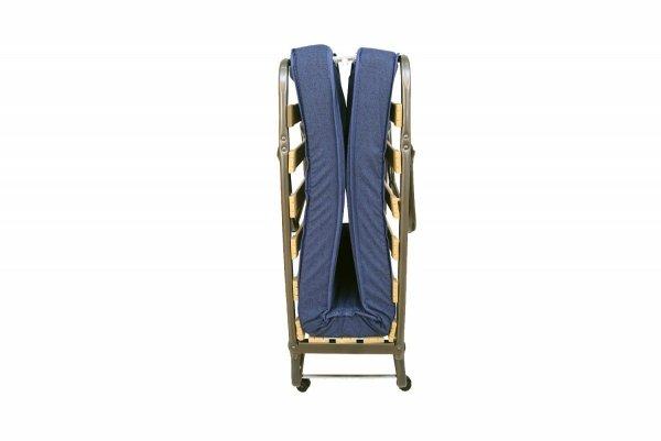 łóżko składane ROMA PREMIUM złożone