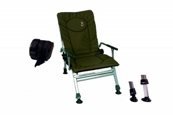 Krzesło-fotel wędkarski-CARP - F5r wytrzymałość 120kg