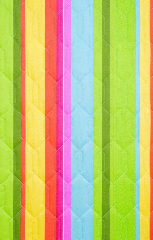 tkanina do leżaka składanego kolorowe pasy