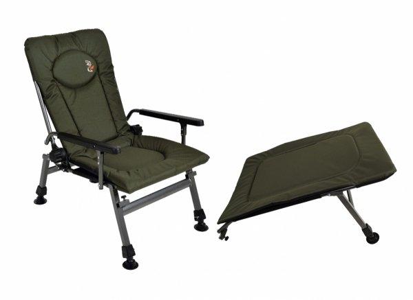 Fotel wędkarski Carp F-5 i podnóżek