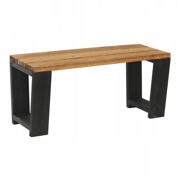Ławka drewniana EcoFurn Jussi 100cm długości