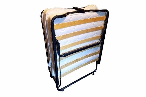Łóżko składane LUXOR 80 x 200 złożone