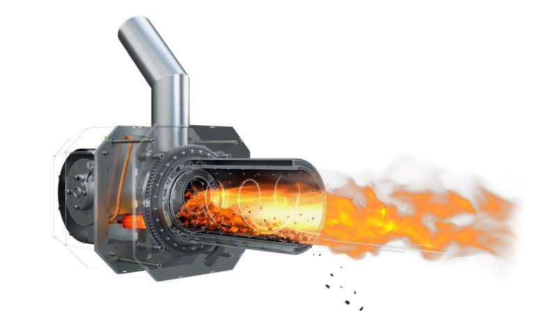 Palnik obrotowy na pellet ecoMax 850 / 860 5 - 20 KW