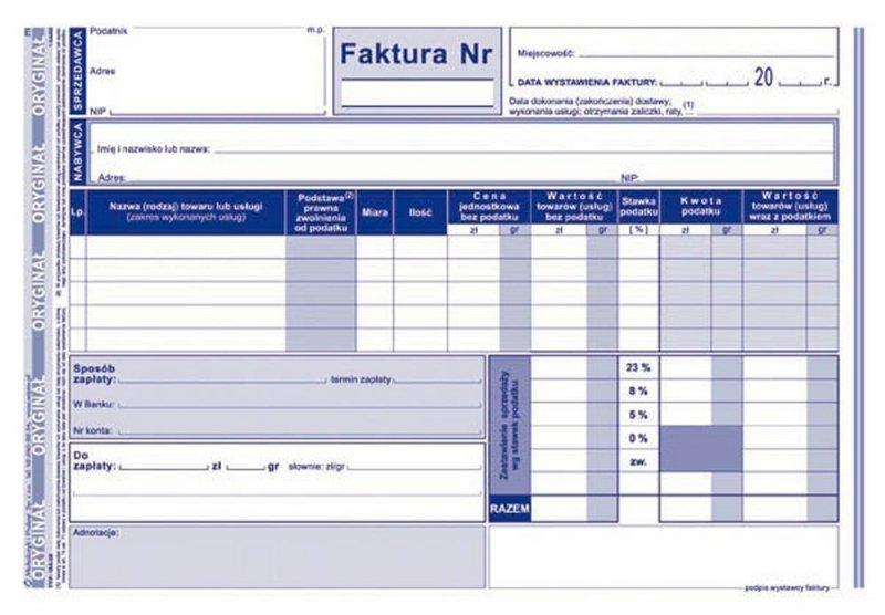 Faktura 103-3E
