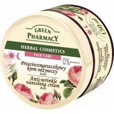 GREEN PHARMACY Przeciwzmarszczkowy Krem Odżywczy Róża 150ml
