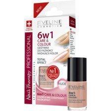 EVELINE Nail Therapy 6w1 Odżywka Do Paznokci Nadająca Kolor NUDE 5 ml