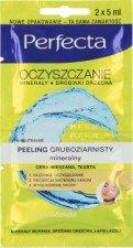 PERFECTA OCZYSZCZANIE Mineralny Peeling Gruboziarnisty 2x5ml