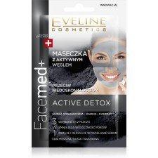 Eveline Facemed+ Maseczka DUO z aktywnym węglem przeciw niedoskonałościom - saszetka 2x5ml
