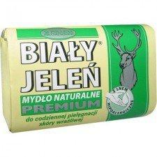 BIAŁY JELEŃ Mydło Naturalne Premium Z Ekstraktem Z Lnu 100g